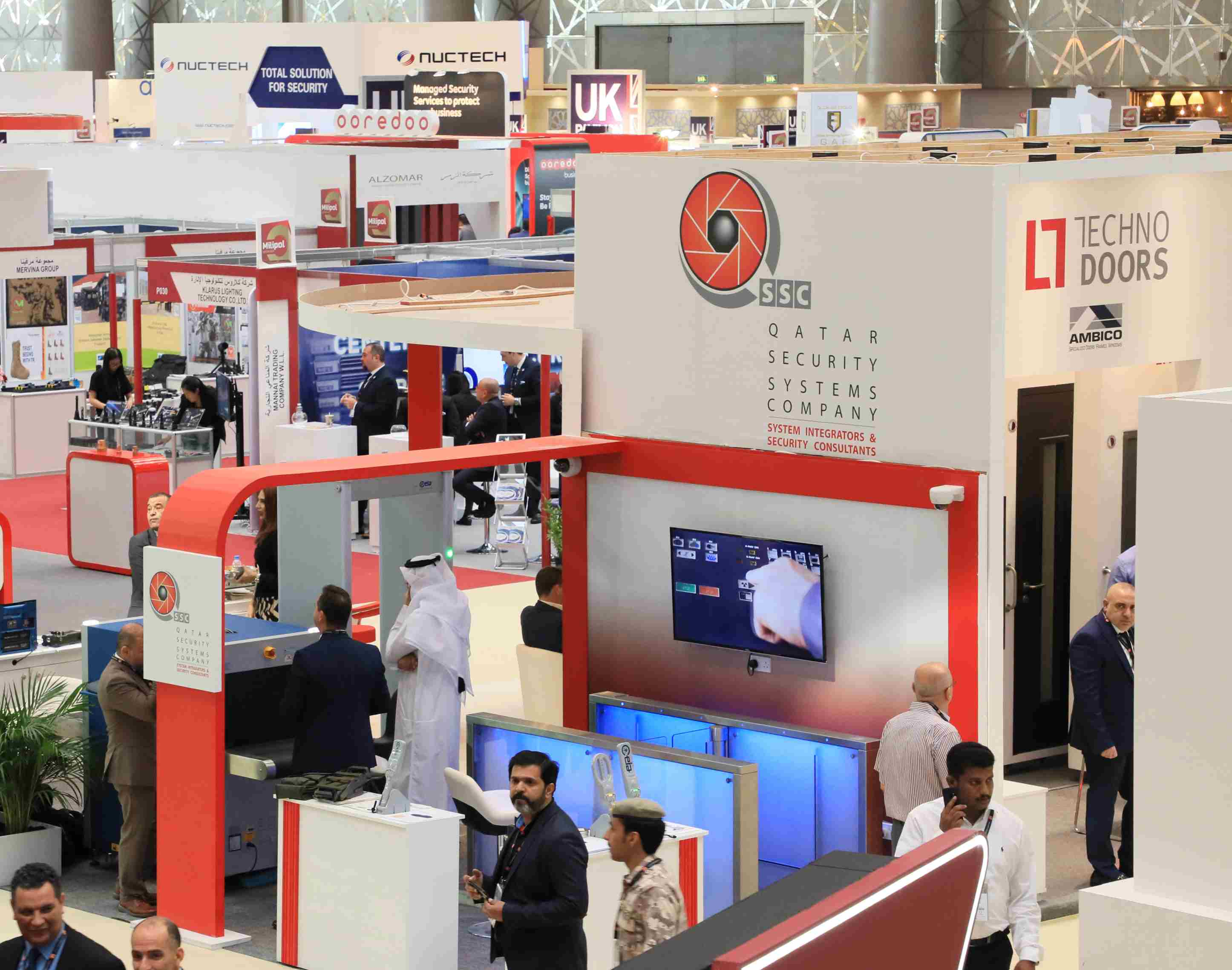 QSS attracts high turnout of visitors at Milipol Qatar 2018
