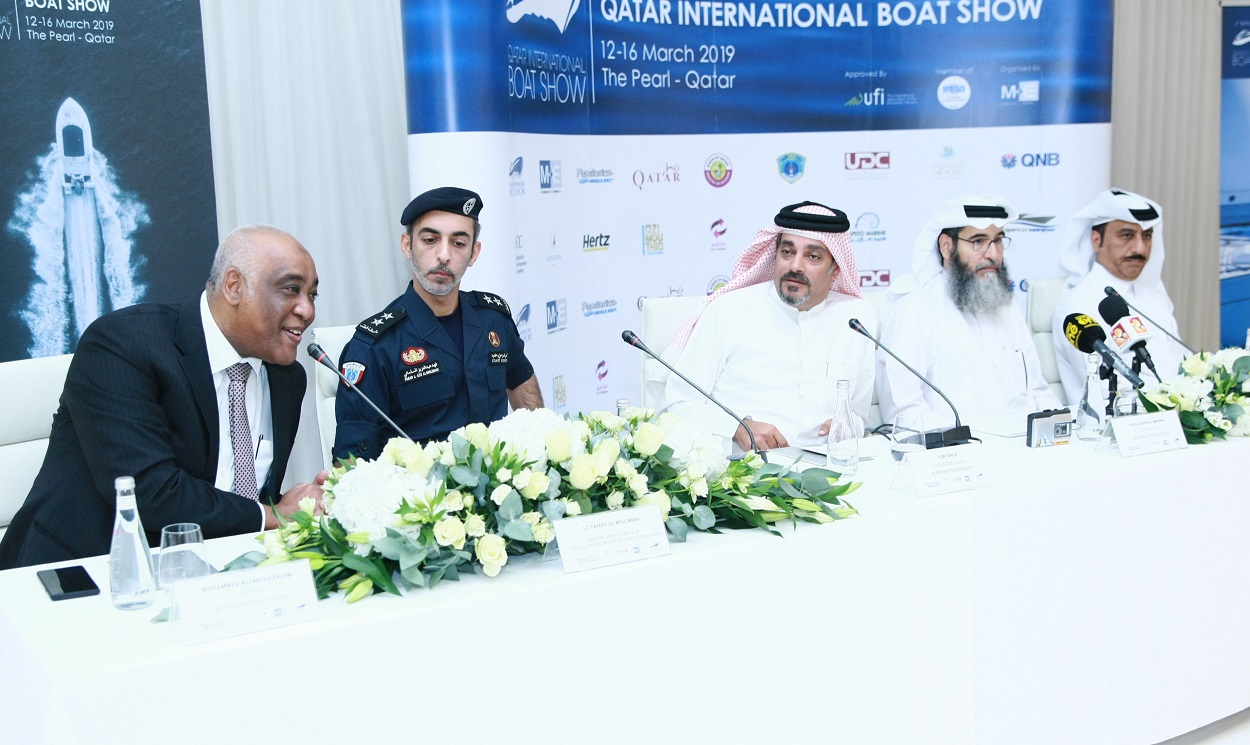 QIG Marine Services is the official forwarding partner of Qatar International Boat Show 2019