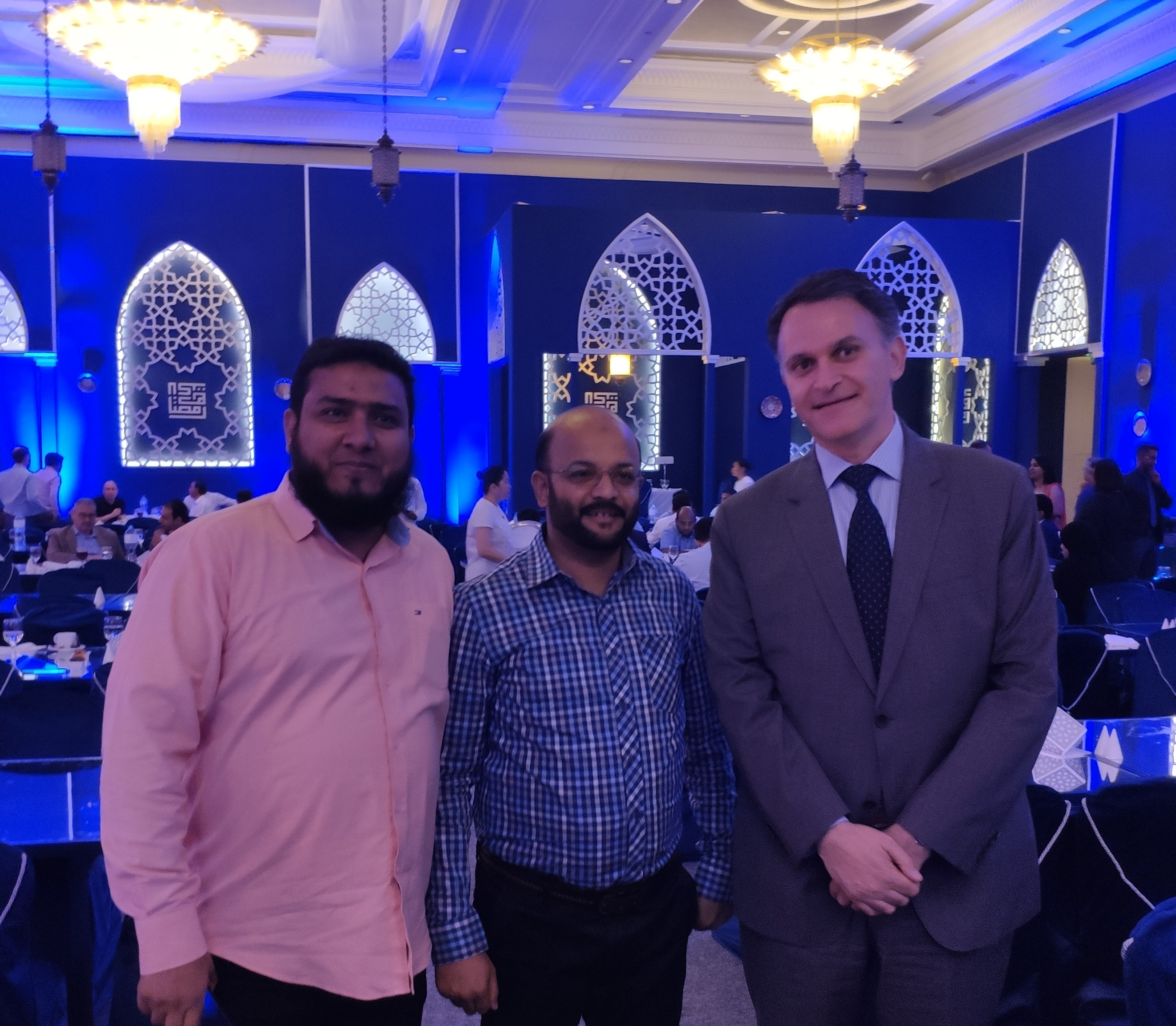 QIG HOSTS SOHOUR FOR ITS PARTNERS AND EMPLOYEES